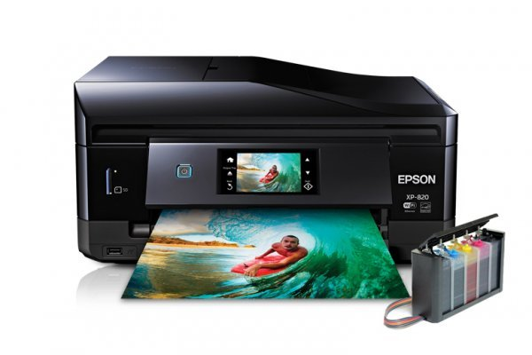изображение МФУ Epson Expression Premium XP-820 Refurbished с СНПЧ