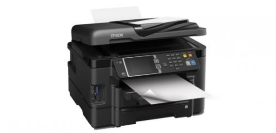 изображение МФУ Epson Workforce WF-3640DTWF Refurbished с СНПЧ Standart
