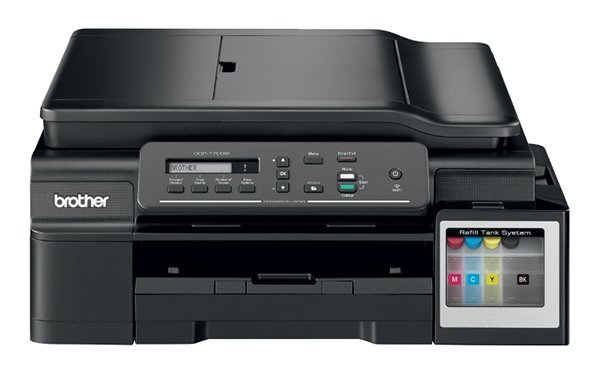 изображение МФУ Brother DCP-T700W InkBenefit Plus c СНПЧ и чернилами Lucky Print