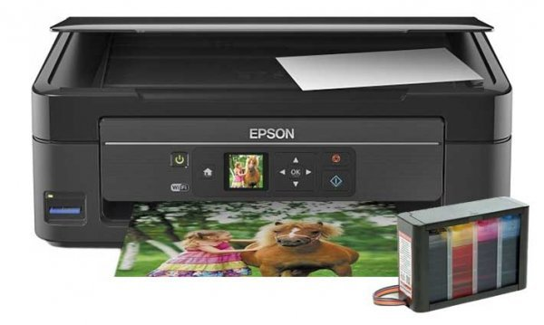 изображение МФУ Epson Expression Home XP-323 с СНПЧ HighTech